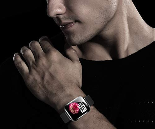 Smart Watch, Fitness Tracker for Android and iOS Phones with Heart Rate & Blood Pressure Monitor, Sleep Monitort, Information Reminder & Step Counter Waterproof Fitness Tracker for Men, Women and Kids 41zhhik6qgL