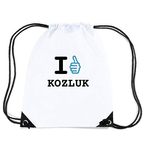 JOllify KOZLUK Turnbeutel Tasche GYM3092 Design: I like - Ich mag