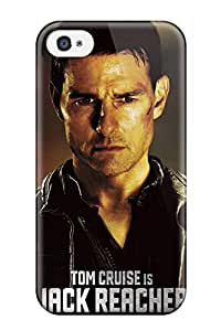 Miri Rogoff's Shop New Style Case Cover Tom Cruise In Jack Reacher Compatible With Iphone 4/4s Protection Case