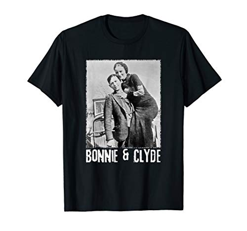 Bonnie & Clyde Matching Couple Shirts and Adult Costumes -