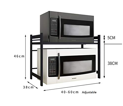 Willsego Creativo Ajustable Microondas Horno Estante ...