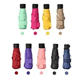 18 Styles 180g Ultralight Pocket Mini Umbrella Rain