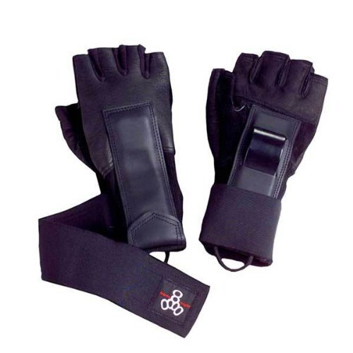 Triple 8 Hired Hands Gloves (Large) by Triple 8