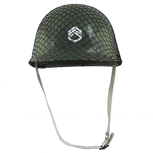 Jacobson Hat Company Childrens Green Army Helmet Costume ()