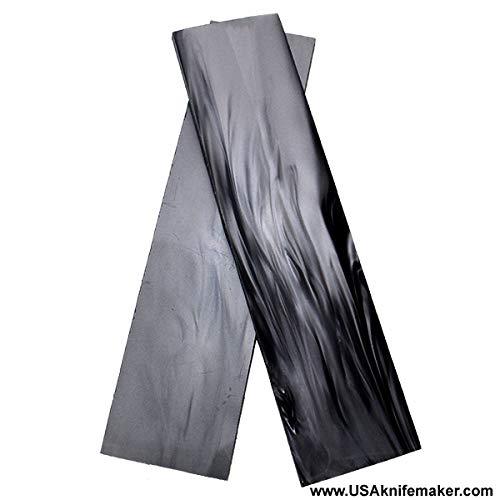 "USA Knifemaker Supply Kirinite (TM) Black MOP 3/16"" x 1.5"" x 6"" Pair of Scales"