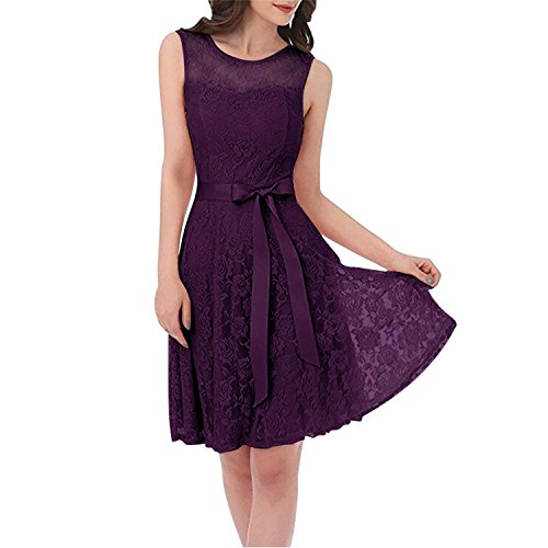 Pleated Bow Front Dress - 4