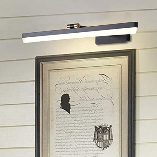 William 337 - Lámpara frontal para cuarto de baño (resistente al agua, antiempañamiento, maquillaje cosmético, espejo, clase energética A +), color neutro