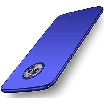 Amazon.com: RIFFUE Moto X4 Case, Premium Slim Thin Fit Shell ...