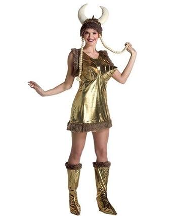 Amazon.com: Las mujeres adultas de cono Viking Disfraz de ...
