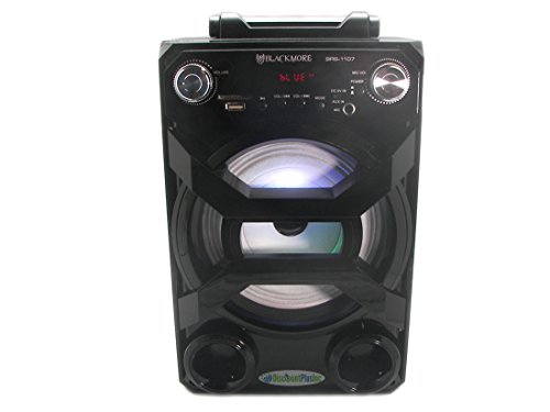 blackmore-brs-1107-black-portable-rechargeable-party-pa-speaker-system-with-usb-sd-fm-microphone-inp