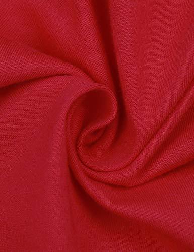 Girocollo e Bambini di Zhhlaixing Natale Pigiama Stampa Famiglia per da Mamma Matching Sleepwear Papà Set Mama Outfits nxX6UZ