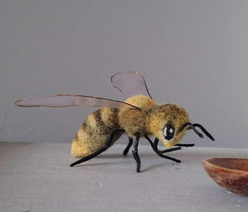 Giant Bumblebee Sculpture Needle felt insect