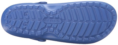 Crocs Classic Lined Clog, Zuecos Unisex Adulto Blu (Cerulean Blue/Navy)