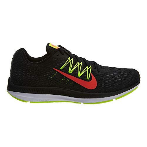 Multicolore Crimson anthracite Nike black Zoom Winflo Scarpe Da volt bright 5 Ginnastica 004 Basse Uomo UU48xqP
