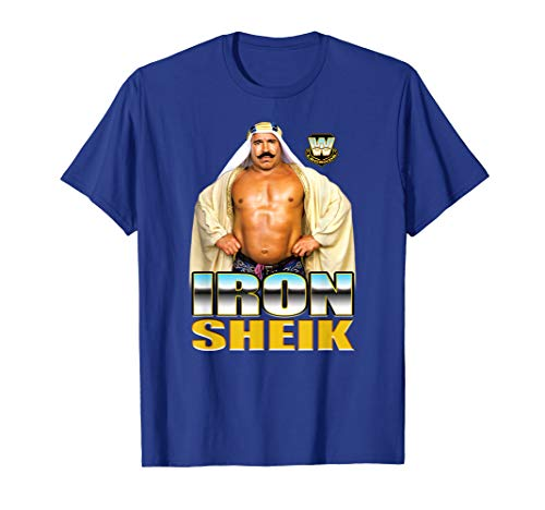 WWE Legend Iron Sheik Champion Pose -