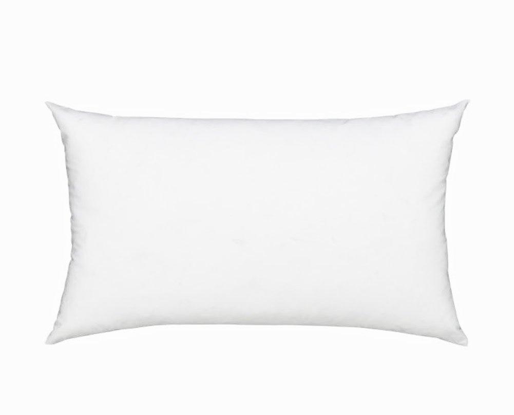 Fennco Styles Polyester Fiber White Pillow Insert - Made in USA (16
