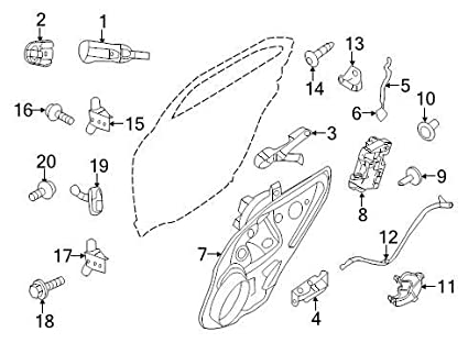 Amazon Left Rear Inside Door Handle 20062011 Ford Fusion Be5z. Left Rear Inside Door Handle 20062011 Ford Fusion Be5z5422601a. Ford. Dooe Diagram 2006 Ford Fusion At Scoala.co