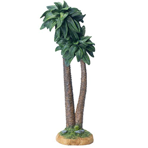 THREE KINGS GIFTS THE ORIGINAL GIFTS OFCHRISTMAS Realistic Palm Tree 12 inch Resin Stone Table Top Nativity Figurine Decoration ()