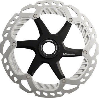 (SHIMANO RT-99 Saint Ice Tech Disc Brake Rotor with Center Lock, 203mm)
