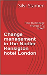The present academic writing shows us what the Nadler Kensington hotel London organizational change management programme is planning to achieve and by the utilization of different academic theories to identify the type of change the company i...