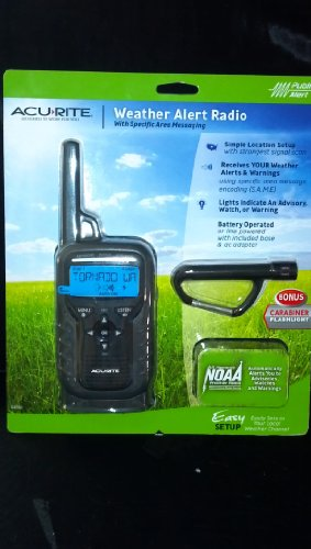 Acurite Portable Weather Alert Radio