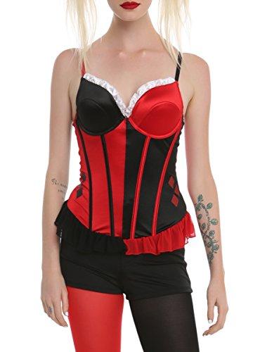 DC Comics Harley Quinn (Harley Quinn Corset Top)
