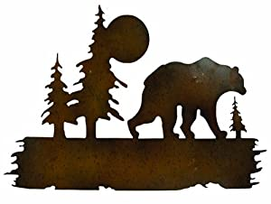 "Gardman 8442 Bear Wilderness Wall Art, 16"" Long x 25"" Wide"