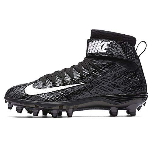 Nike Mens Lunarbeast Elite Ground Quake Football Cleat (9.5 D(M) US, Black/Grey/Anthracite)