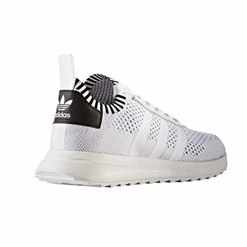 Adidas Primeknit Flashback FLB Sneakers, Zapatillas de Running para Mujer, White