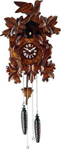 Villengen Hand Carved Black Forest Cuckoo Clock