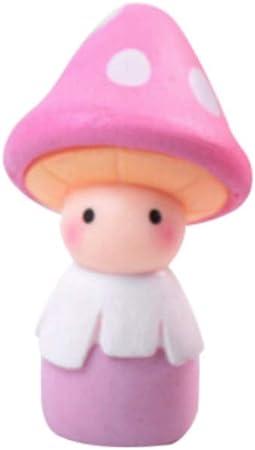 Maritown Adornos en Miniatura de Hada para jardín, Lindas muñecas de Seta, Figura de Resina para casa de muñecas en Miniatura, decoración Exterior para niños, Kit de Bricolaje: Amazon.es: Hogar