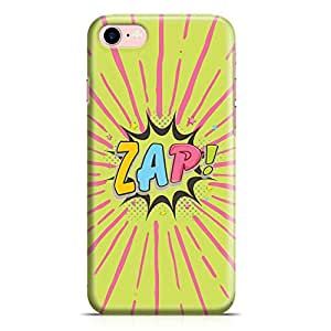 Loud Universe iPhone 8 Case Comic Zap Clear Edge Durable Wrap Around iPhone 8 Cover