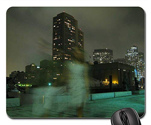Mouse Pad - Ghost Weird Mystery Person Walking