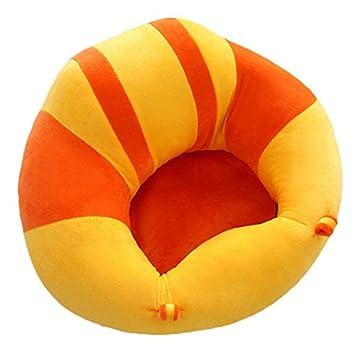 Silla de aprendizaje para sentarse asiento de apoyo para beb/é sof/á de felpa para ni/ños peque/ños B# Talla:43x43x20cm