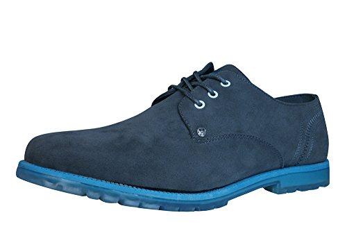 Firetrap Tyson Ata para arriba los zapatos de los hombres Grey