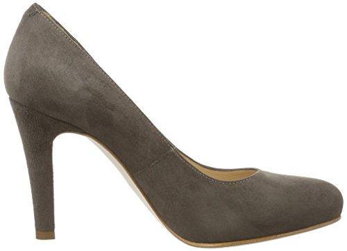 Unisa Mujer para Zapatos 17 KS Patric Tacón Marrón de Lodo wxAgFq1RBw