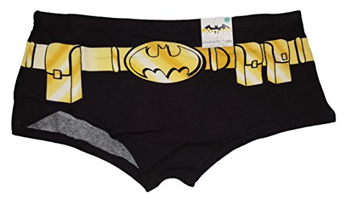DC Comics Batman Costume Boyshort Panties - Medium (Womens Batman Underwear)