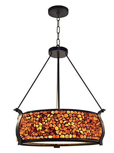 Colored Drum Pendant Lights in Florida - 8