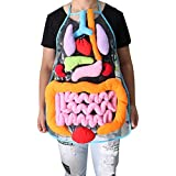 3D Organ Apron Toys,Anatomy Apron Human Body Organs Awareness Educational Insights Toy for Home Preschool Teaching Aid for Kindergarten Kids Physiological Educational Toys