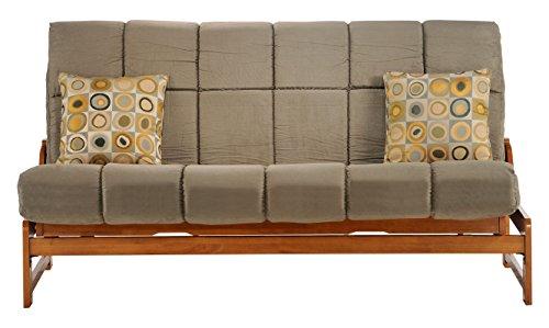 Night & Day Furniture Pocket Coil Plus Futon Mattress, Sage, Queen ()