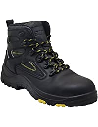 Protector Men's Steel Toe Industrial Work Boots Safety Shoes Electrical Hazard Protection