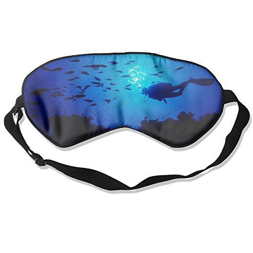 Bdna Sleep Eyes Masks Wonderful Fish Pattern Sleeping Mask For Travelling, Night Noon Nap, Mediation Or - Sunglasses Hulk