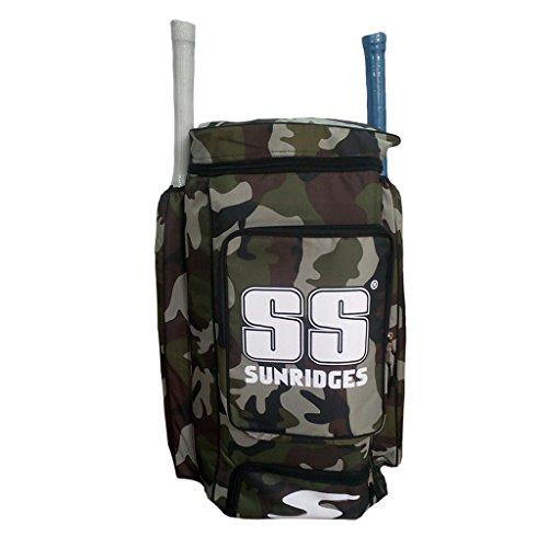 SS Camo Duffle Cricket Kit Bag - Green -