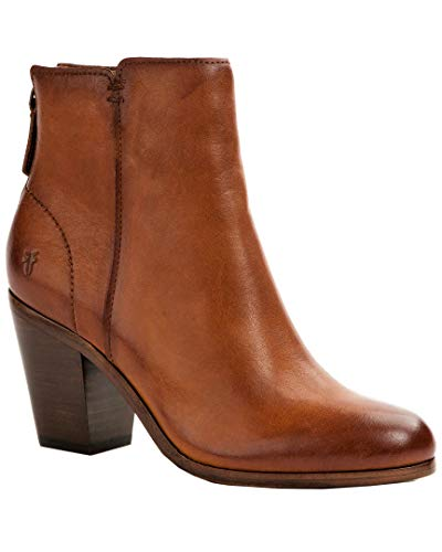 - FRYE Women's Cameron Bootie Fashion Boot, tan, 7.5 M US