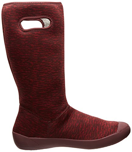 Summit Insulated Boot Waterproof Bogs Raisin Women's Knit Iaxfw5q