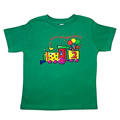 Inktastic Little Boys' 2nd Birthday Express Toddler T-Shirt