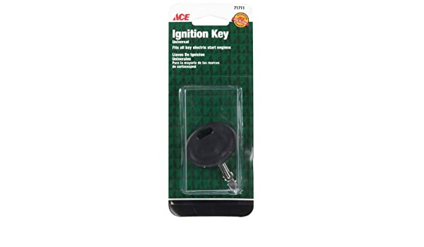 Amazon.com : Ace Mower Ignition Keys (AC-IK-100) Cd/1 : Lawn Mower Parts : Garden & Outdoor