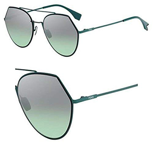 Sunglasses Fendi Ff 194 /S 01ED Green / GY brown/gold mirror lens