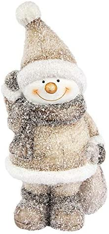 Figurine de bonhomme de neige 18 cm de haut