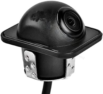 Front View Camera EKYLIN Car Auto Front View Camera Forward Cam Screw Bumper Mount Universal Fit Non-Mirror Image w//o Parking Assistance Grid Lines